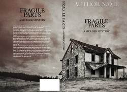 Fragile Parts (Pre-made book cover)