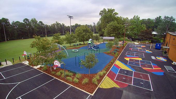 Brookwood Forest Elementary Opens Ranger Park