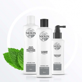 Nioxin Trial Kit System 1 150ml+150ml+50ml