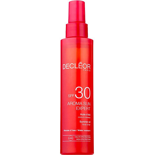 Decleor SPF 30 Summer Hair & Body Oil 150ml