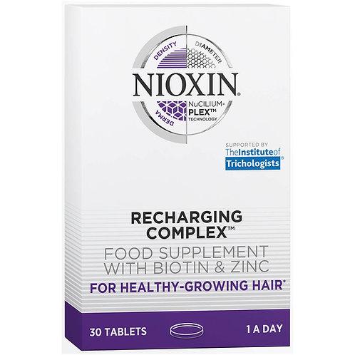 Nioxin Recharging Complex Food Supplement with Biotin & Zinc 30 tablets