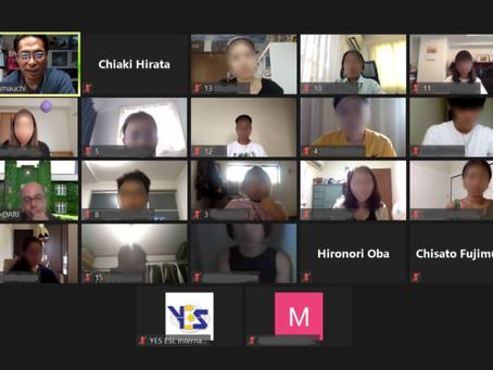 GEDO理事長山内による立教大学オンライン講義開催