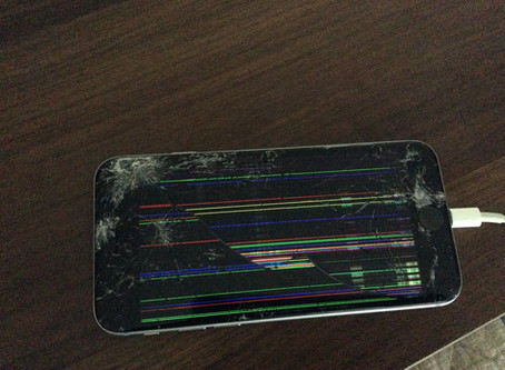 iPhone 逝く