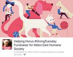 Dan's #GivingTuesday Fundraiser