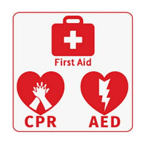 First Aid CPR AED Blended Learning (online course + skills session)