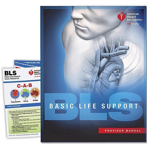 AHA BLS Provider (Student) Manual