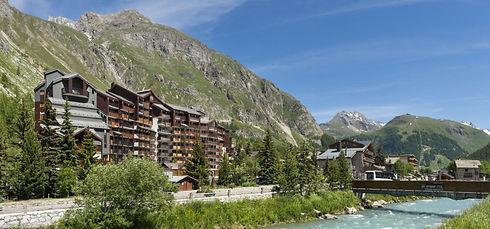 Résidence La Daille Val d'isère 6 personnes ski vue sur les montagnes sports d'hiver location à courte durée