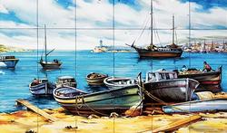 mural barcas