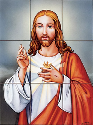 mural cristo