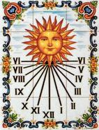 mural reloj