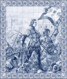 mural caballero