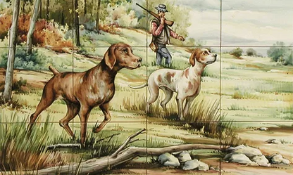 mural caza