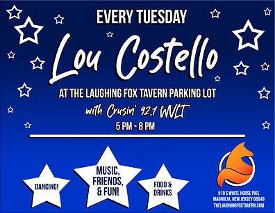 Laughing Fox Lou Costello Tuesdays.jpg