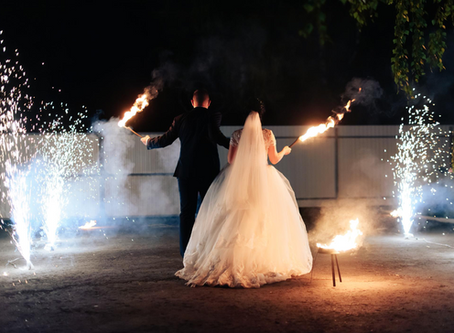 Want Fireworks at Your Wedding? Here's How to Do It