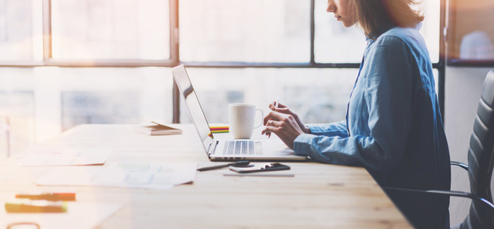 Working Process, Modern Office, Desk, La