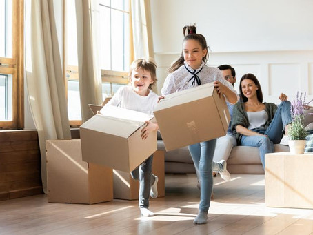 Top Tips for Moving House With Kids in Tow