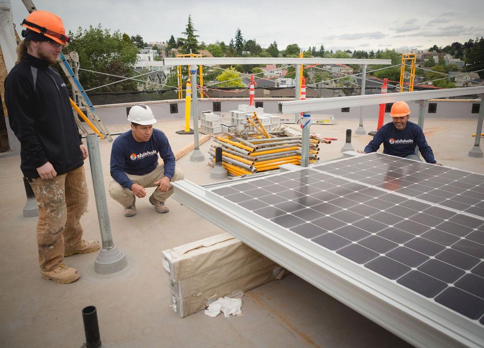 130Kw net-zero solar energy system at Inspire Fremont