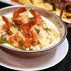 Jumbo Shrimp Risotto