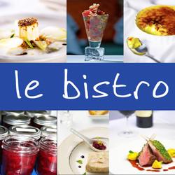 Le Bistro Food Collage