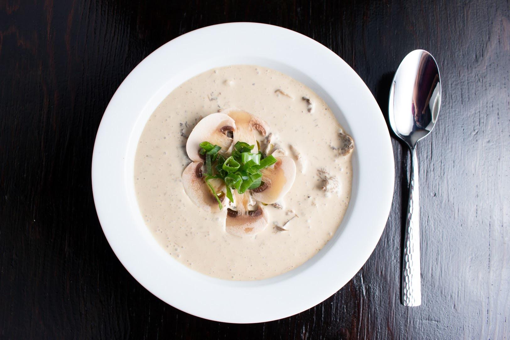Le Bistro Famous Mushroom Soup