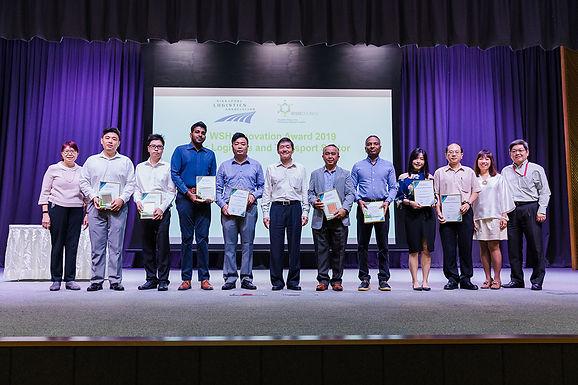 WSH Innovation Awards for Logistics & Transport Sector 2019