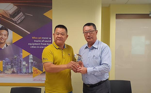 China-Fujian Longyan Logistics Industry Association Delegation