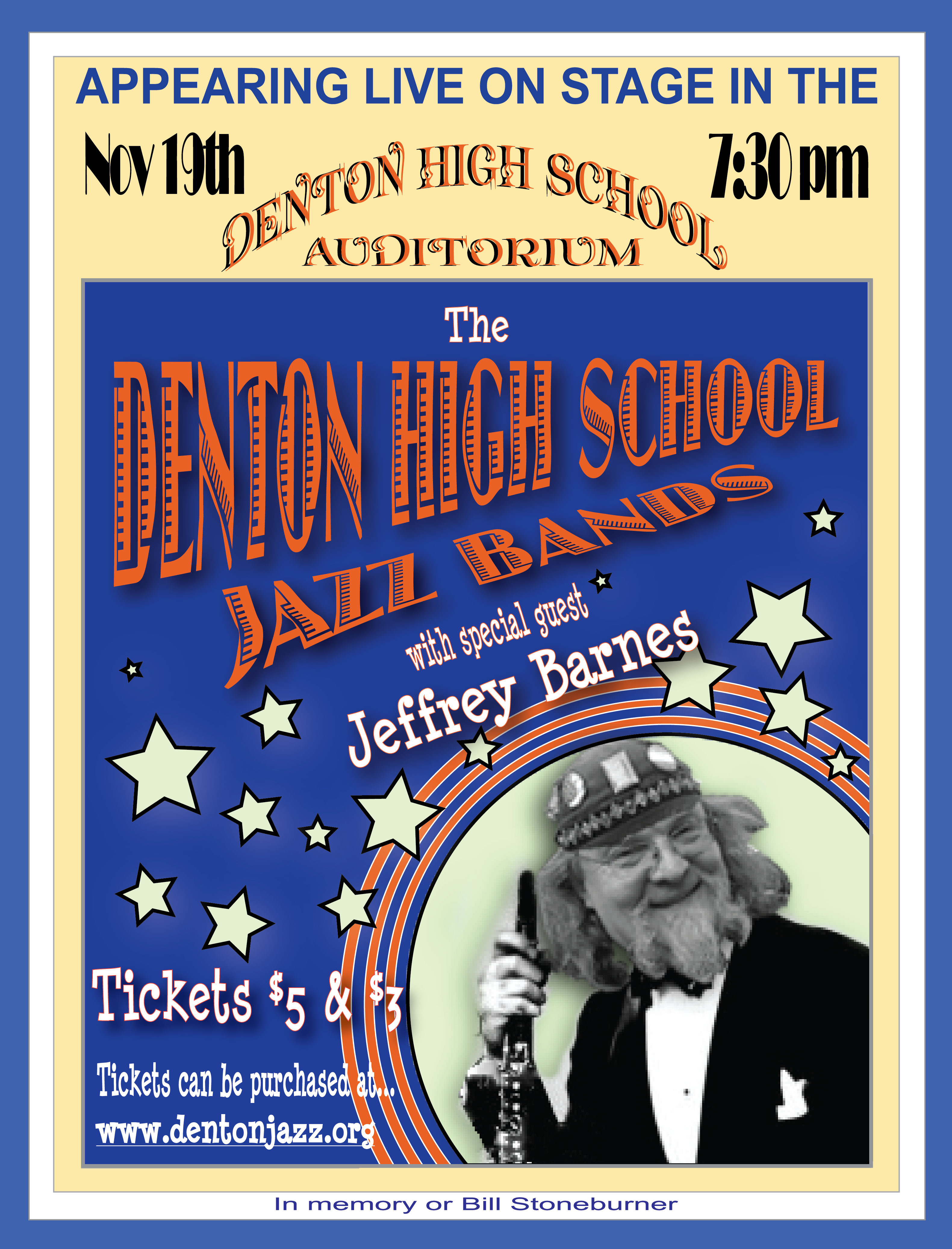 Poster - Jazz Band with Jeffery Barnes