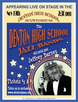 Poster - Jazz Band with Jeffery Barnes