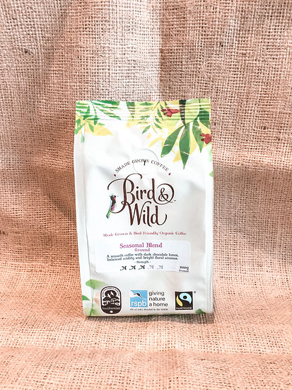 Bird & Wild RSPB Coffee, Medium Roast
