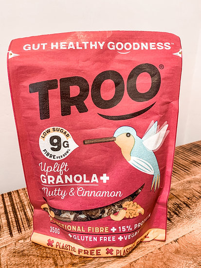Troo Granola-Nicely Nutty with Soothing Cinnamon