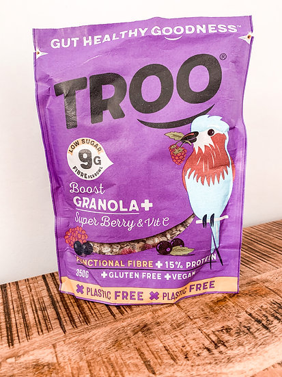 Troo Boost Granola+Super Berry & Vitamin C