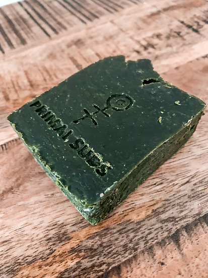 Green Grass Soap Bar- Primal Suds