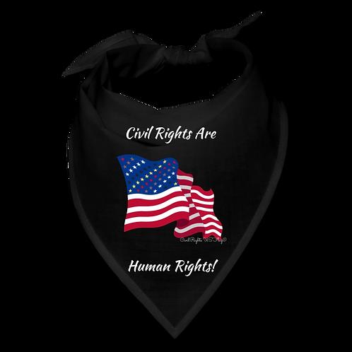 Civil Rights are Human Rights, Civil Rights US-Flag Bandana