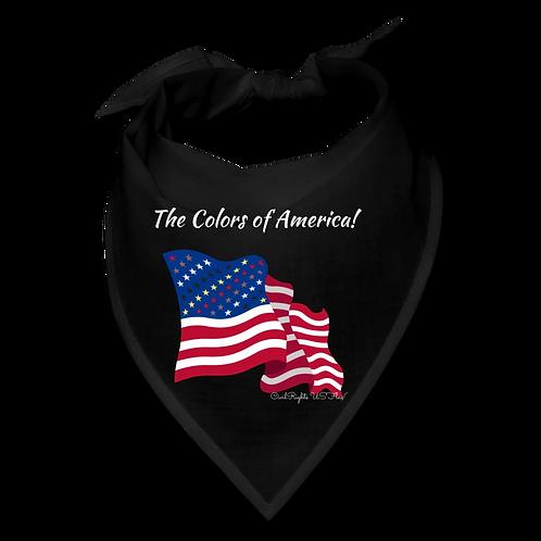 The Colors of America, Black Civil Rights US-Flag Bandana