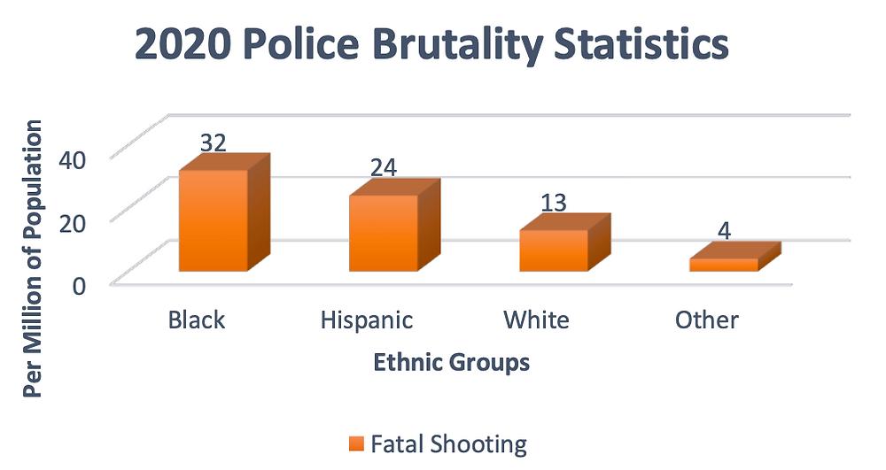 2020 Police Brutality Statistics