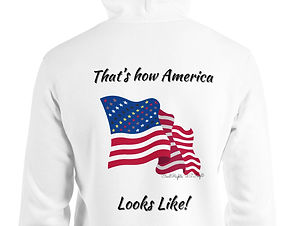 Civil Rights US Flag Hoodies