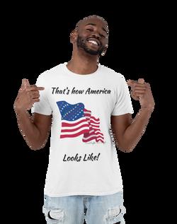 Civil Rights US Flag Eco friendly T-Sirt