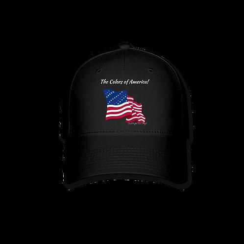 The Colors of America, Civil Rights US-Flag Baseball Cap 1