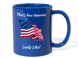 Civil Rights US Flag Mugs