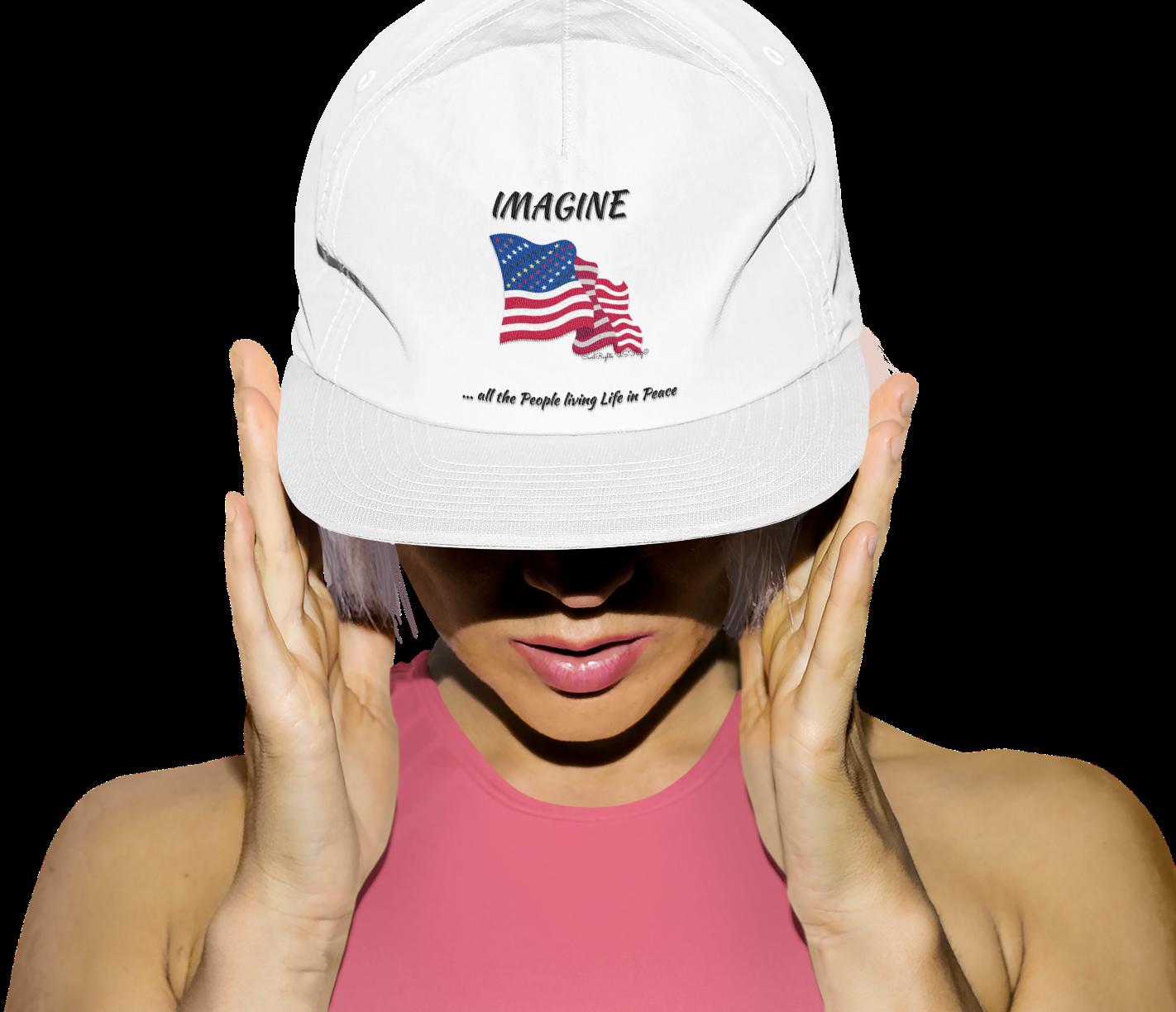 Imagine Hat cap Civil Rights US Flag