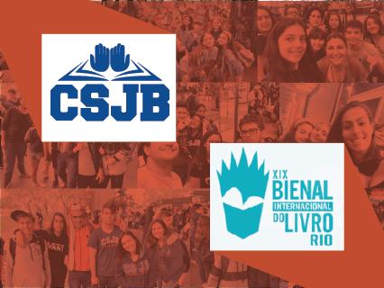 CSJB NA BIENAL DO LIVRO | 2019