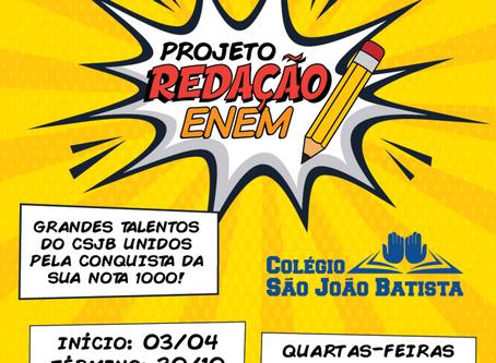 Projeto Redação ENEM 2019