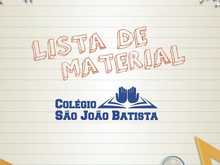 Listas de Material 2020