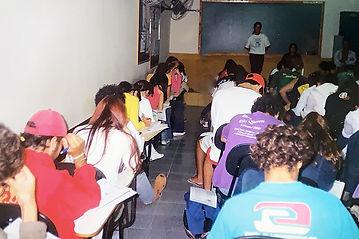 Sala de aula do Colégio São Joã Batista