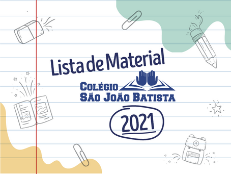 LISTAS DE MATERIAL CSJB - 2021