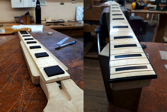 Ebony Binding and Inlays