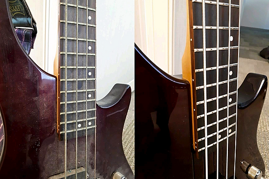 Vantage Bass Before And After