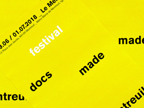 Festival Docs Made In Montreuil