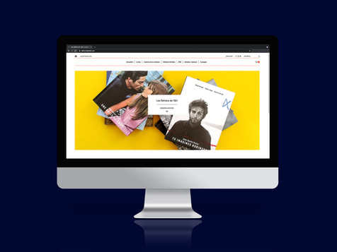 Les Éditions de l'Œil Site internet