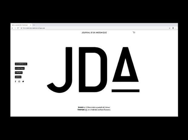 Le Journal d'un Anosmique / Site internet